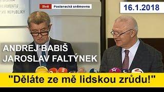 JE TO PRASÁRNA, ale necháme se vydat / premiér Andrej Babiš o kauze Čapí hnízdo