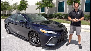 Is the 2021 Toyota Camry XLE a BETTER luxury sedan than a Mazda 6 & Accord?