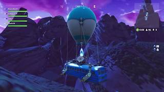 I arrive at THE ISLAND of FORTNITE in AUTOBUS MY BIGGEST BUG
