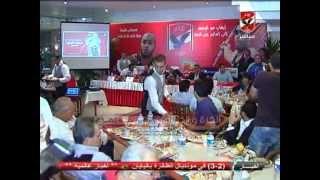 وزير الشباب والرياضه مع رئيس النادى الاهلى يتفقدون فرع مدينه نصر