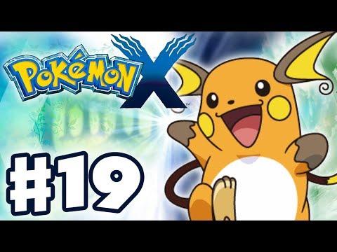 Pokemon X and Y - Gameplay Walkthrough Part 19 - Pikachu Evolves into Raichu! (Nintendo 3DS)