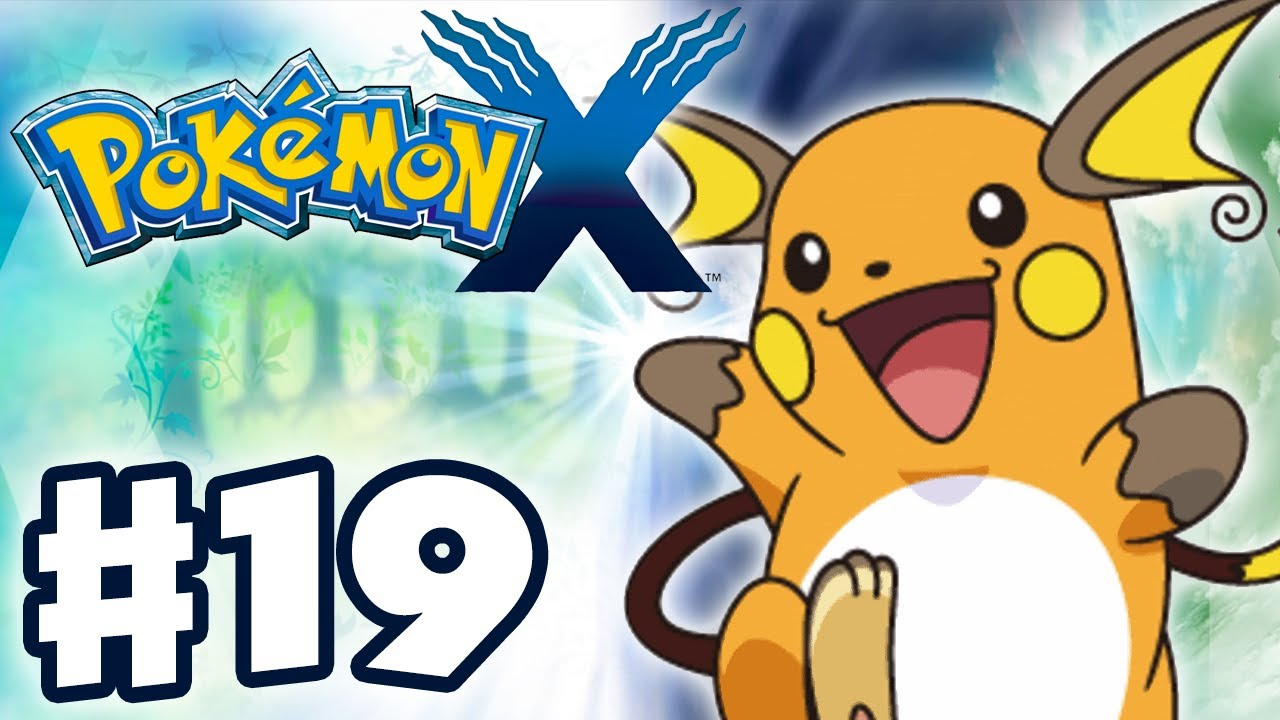 Pokemon x and y gameplay walkthrough part 19 pikachu - Pokemon x raichu mega evolution ...
