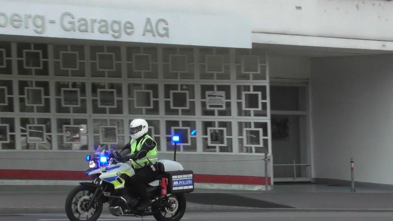 KRAD Einsatzleitung Verkehrspolizei Kantonspolizei Basel-Stadt - YouTube