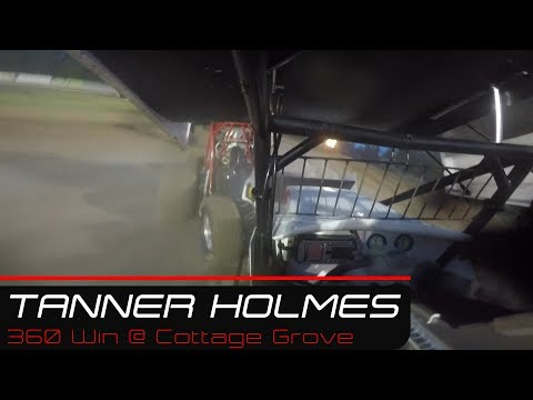 Tanner Holmes Feature Win @ Cottage Grove Speedway | 6.14.19