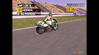 Superbike 2000 - Gameplay PSX / PS1 / PS One / HD 720P (Epsxe)