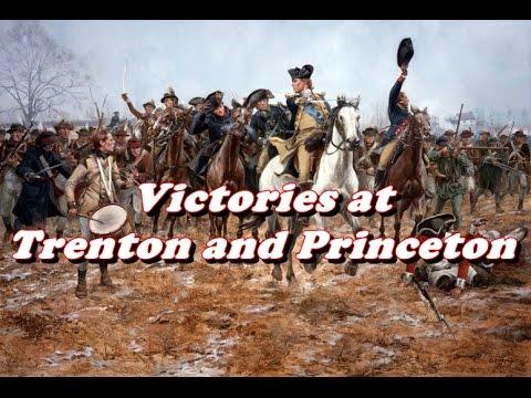 History Brief: Victories At Trenton And Princeton