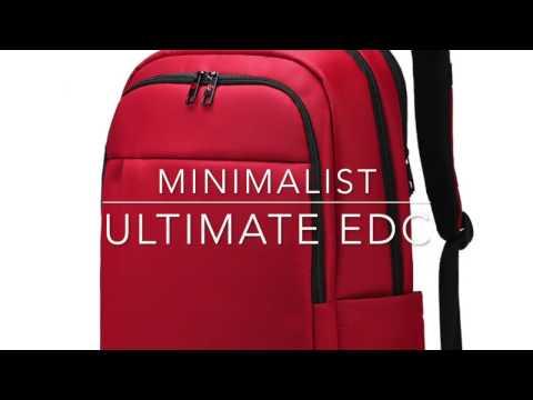 MINIMALIST TECH EDC -Neat and sleek backpack for the Minimalist