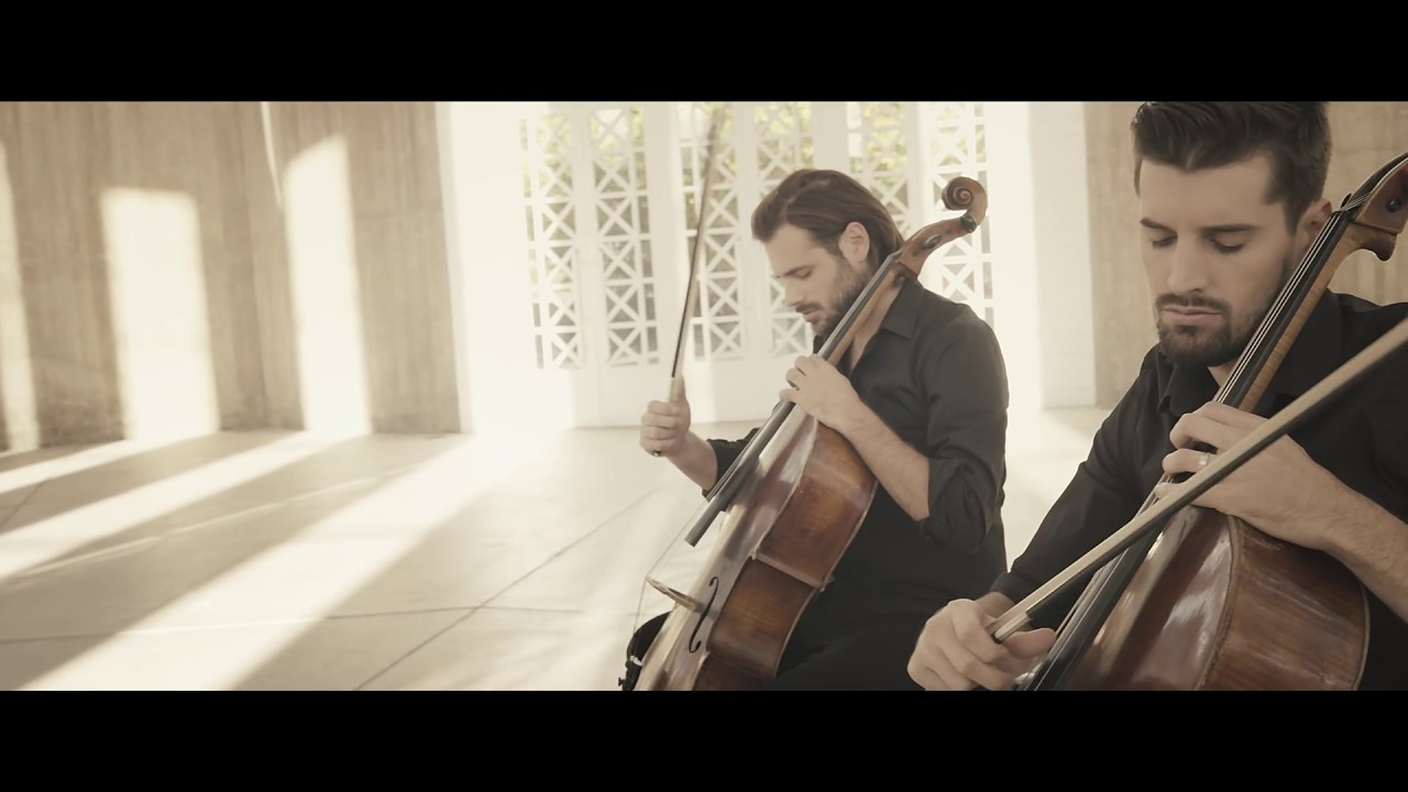 2cellos Hallelujah Official Video Youtube
