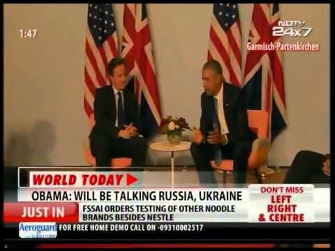 Obama- Will be talking Russia, Ukraine in G7 Summit