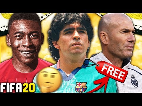 WHAT IF ALL PRIME ICONS WERE FREE AGENTS?!? FIFA 20 Career Mode Experiment