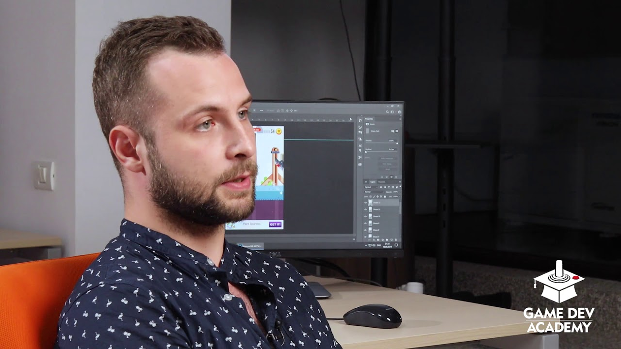 Adrian Banica povesteste despre experienta GameDev Academy