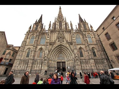 The Gothic Quarter Barri Gotic Barcelona