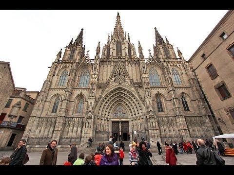 68e151bdbedc The Gothic Quarter Barri Gotic Barcelona - YouTube