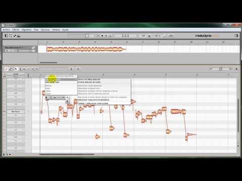 Como Convertir Un Archivo en Wav o Mp3 a Midi   Melodyne HD