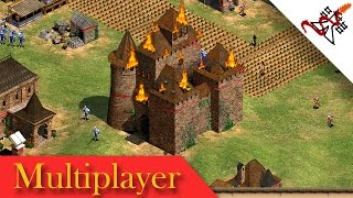 Age of Empires 2 - 2vs2vs2 WEAK LINK | Multiplayer Gameplay