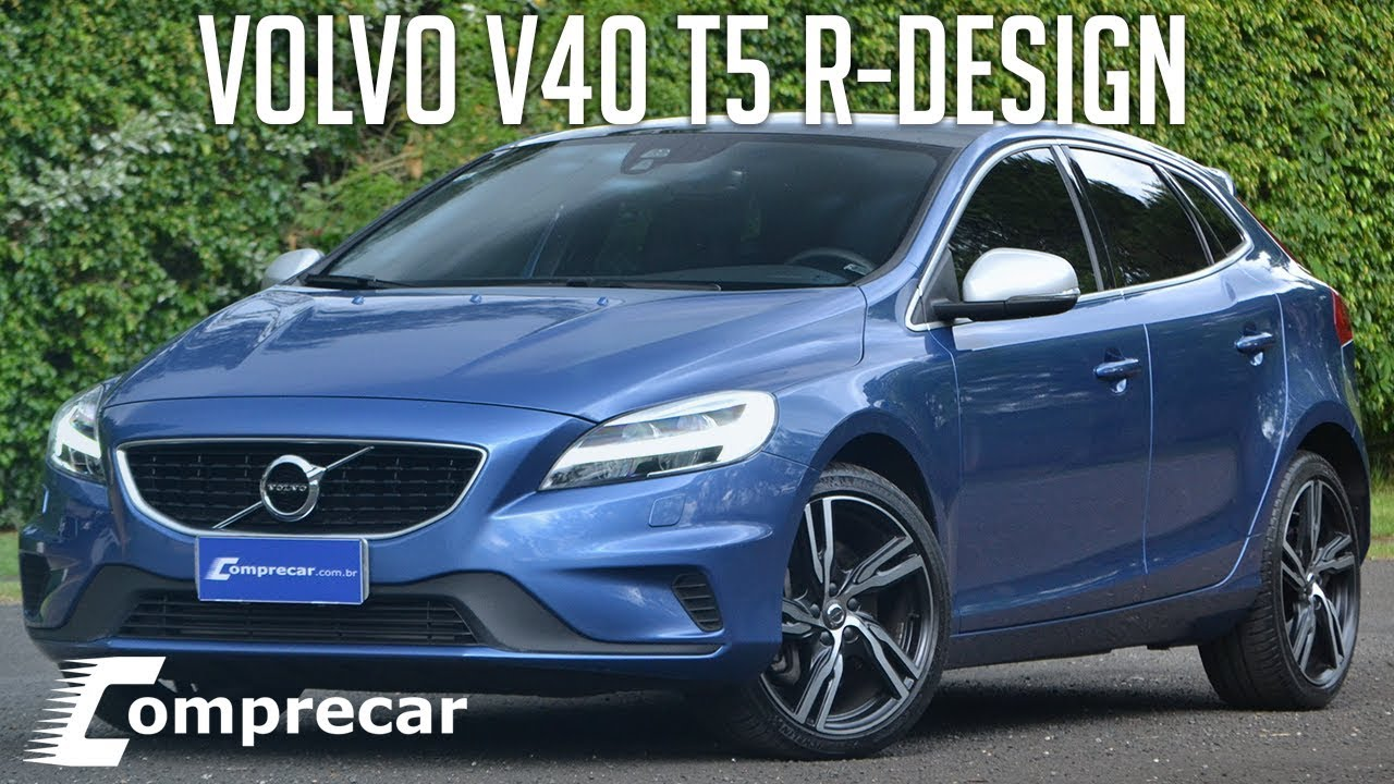 avalia o volvo v40 t5 r design youtube. Black Bedroom Furniture Sets. Home Design Ideas