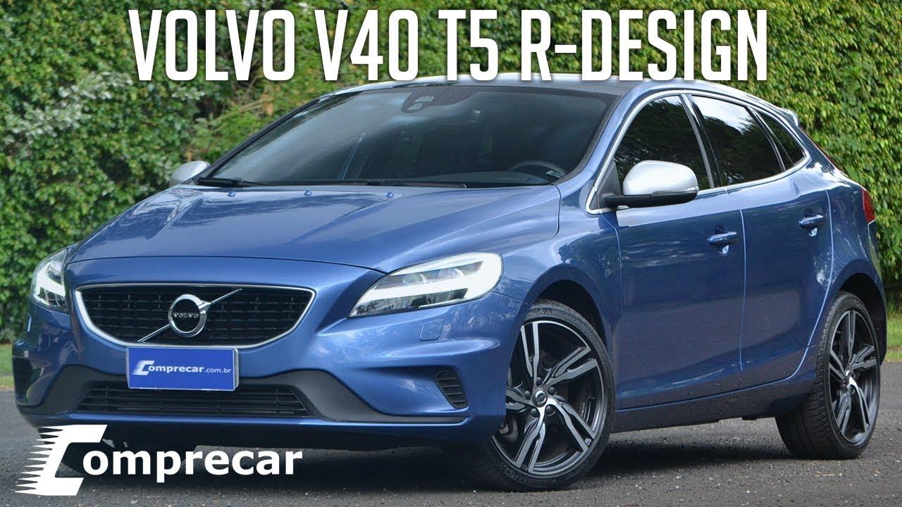 Avaliação: Volvo V40 T5 R-Design - YouTube