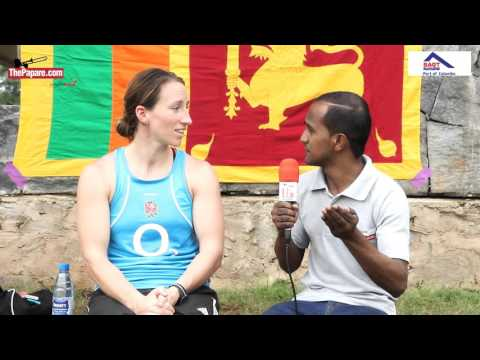 Katherine Merchant -  Sri Lanka women's rugby coach