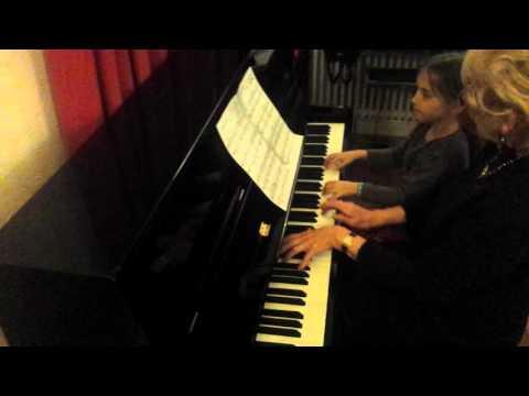 Russian dance piano duet