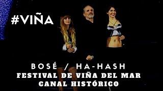 GRANDES DÚOS: MIGUEL BOSÉ / HA- ASH  - Si Tú No Vuelves / Festival de Viña del Mar 2018 HD #VIÑA2018
