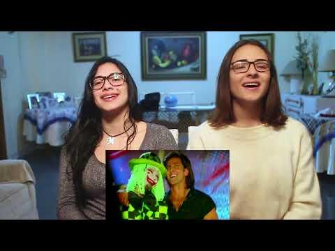 Hritik Roshan Dil Na Diya  Reaction by Irene and Alexa