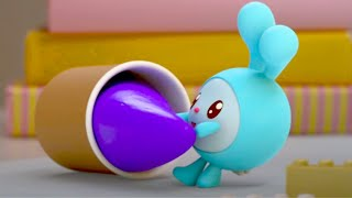 Малышарики - Про Крошика | Сборник смешных серий | Мультфильмы для детей 2021