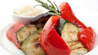 Овощи на гриле. Рецепт приготовления. Быстро и вкусно.