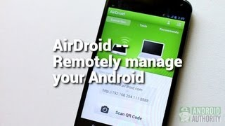 AirDroid: Remotely manage your Android from a Web browser screenshot 2
