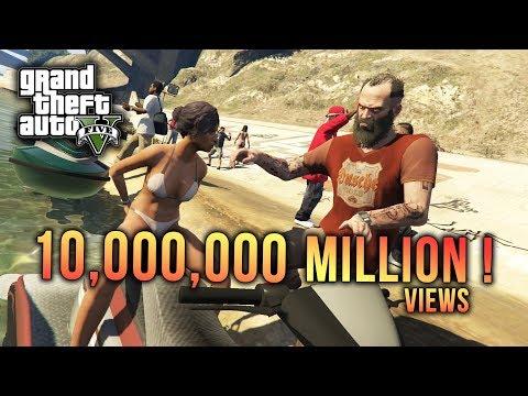10 Million Views YouTube! - (GTA 5 Malaysia) // GTA 5 Story Mode Walkthrough Gameplay #12
