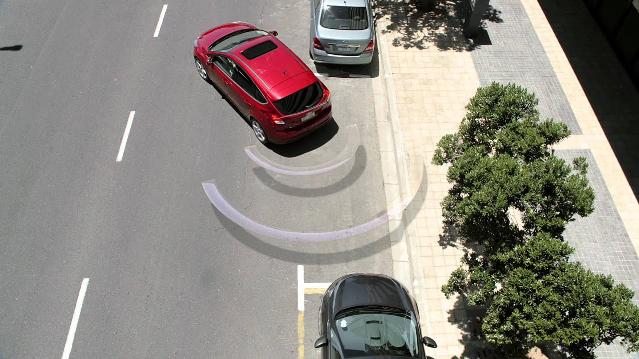 2012 ford focus active park assist easy parallel parking youtube. Black Bedroom Furniture Sets. Home Design Ideas