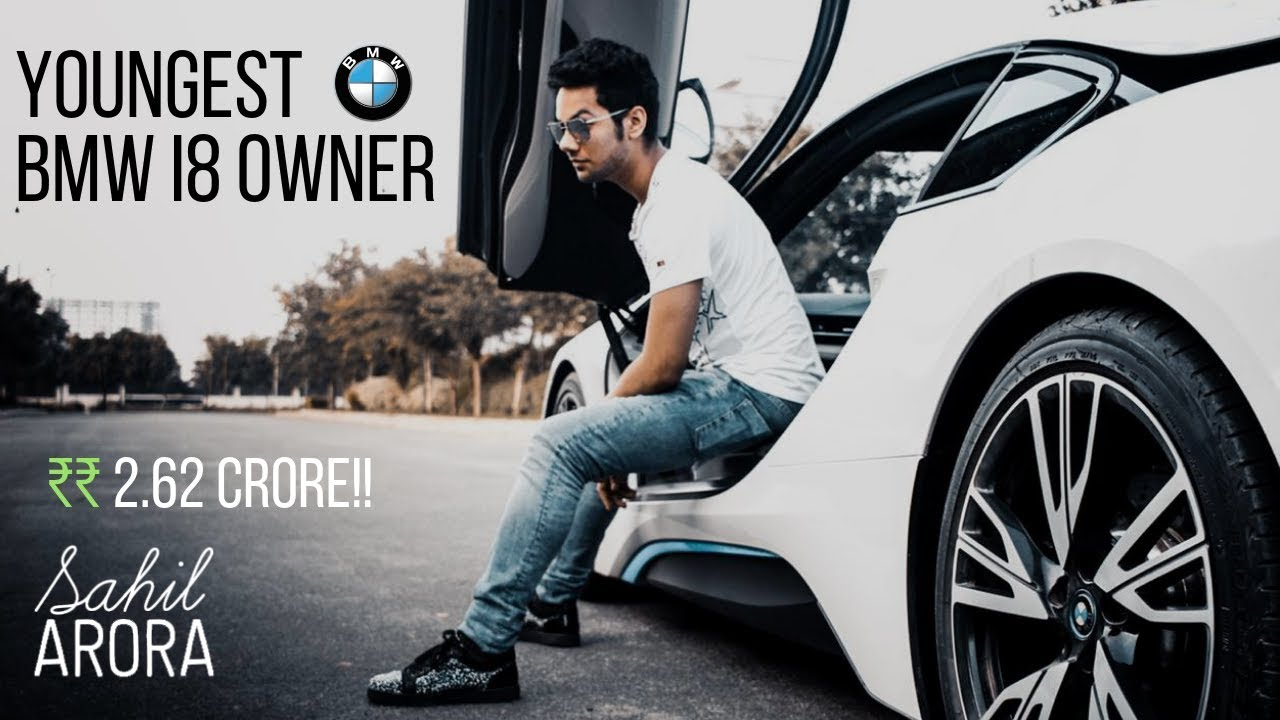 India S Youngest Bmw I8 Owner Youtube