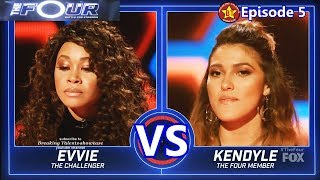 Kendyle Paige vs Evvie Mckinney  with Results  &Comments The...
