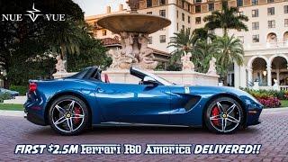First $2.5M Ferrari F60 America delivered! +MANY Supercars at Cavallino