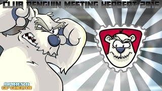 Club Penguin: Meeting Herbert P Bear 2016