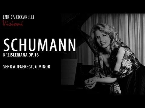 Schumann - Kreisleriana op.16 - Sehr aufgeregt, G minor - Enrica Ciccarelli