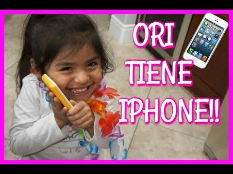 ORI TIENE IPHONE!! - Vlogs diarios - Jackie Hernandez