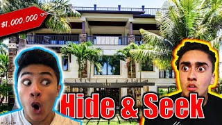 HIDE AND SEEK in Our Mansion!