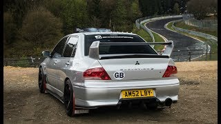 I Bought a 400HP Evo 7 and Went Straight to the Nürburgring!