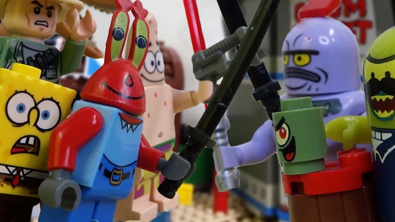 """Lego Spongebob """"Krusty Legion"""" (Ep.70)"""