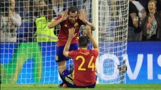 スペイン快勝 イングランド不敗記録をストップ