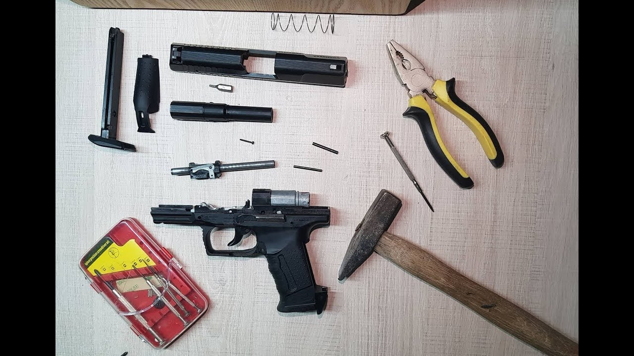 HOW TO DISASSEMBLE & REPAIR UMAREX WALTHER P99 DAO Co2
