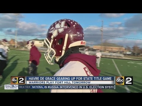 Title rematch game for Havre de Grace football team