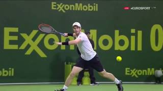 ATP World Tour DOHA 2017 - Andy Murray vs Novak Djokovic