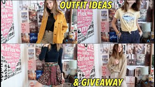 SCHOOL OUTFIT IDEAS + GIVEAWAY!!!!
