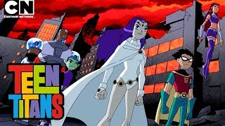 Teen Titans | Raven vs. Trigon | Cartoon Network