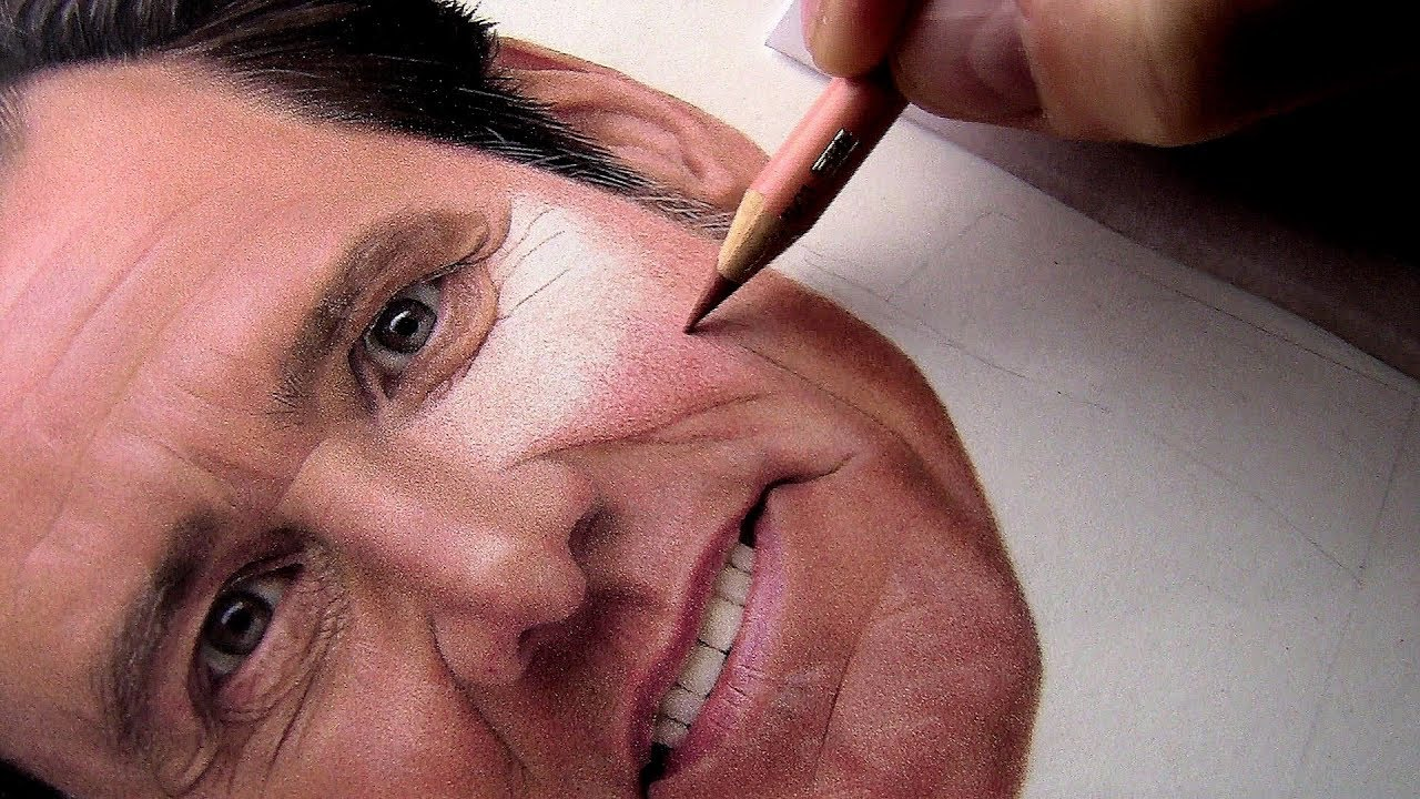 REAL TIME DRAWING of SKIN TONES in COLORED PENCILS    Part 1 - YouTube