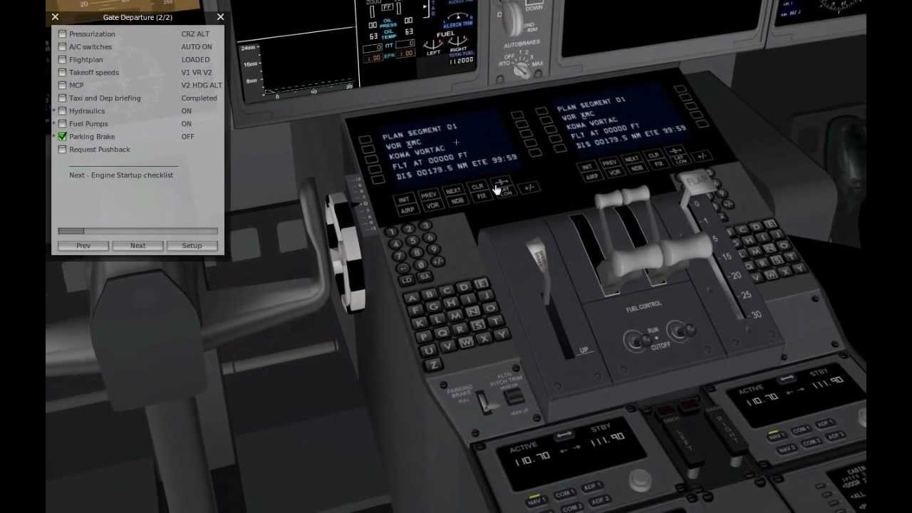 Boeing 787 Manual X plane 11 Cracked
