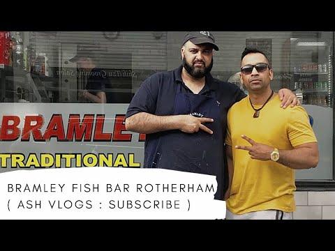 BRAMLEY FISH BAR ROTHERAM | Ash Vlogs | FOOD REVIEW |