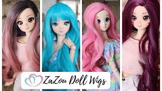 ZaZou Doll Smart Doll Wig Haul And Dress Up!