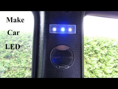 How to Make a Car Plexiglass LED Light B Panel & How to Make a Car Plexiglass LED Light B Panel - YouTube